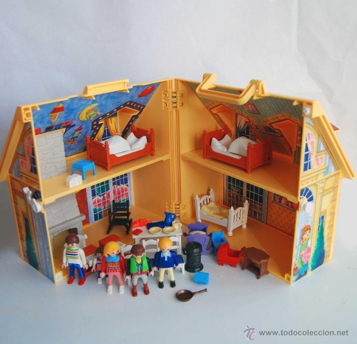 Casa de mu ecas portatil de playmobil geobra 41 comprar playmobil en todocoleccion 40269079 - Gran casa de munecas playmobil ...