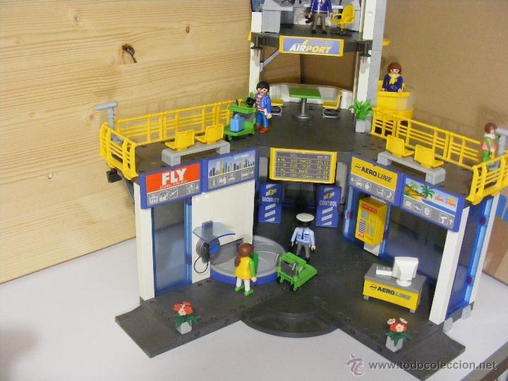 Playmobil aeropuerto edificios ref 3186 comprar for Oficina postal mas cercana