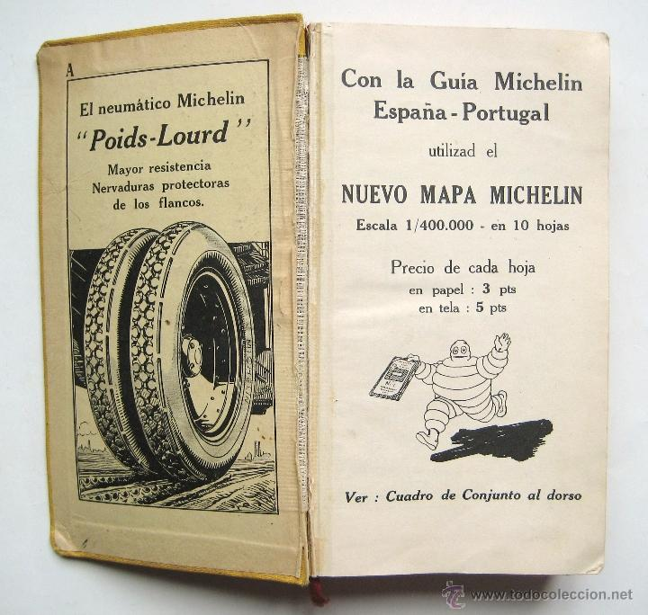 guia michelin espaa portugal edicion ix 1929 m  Comprar Libros