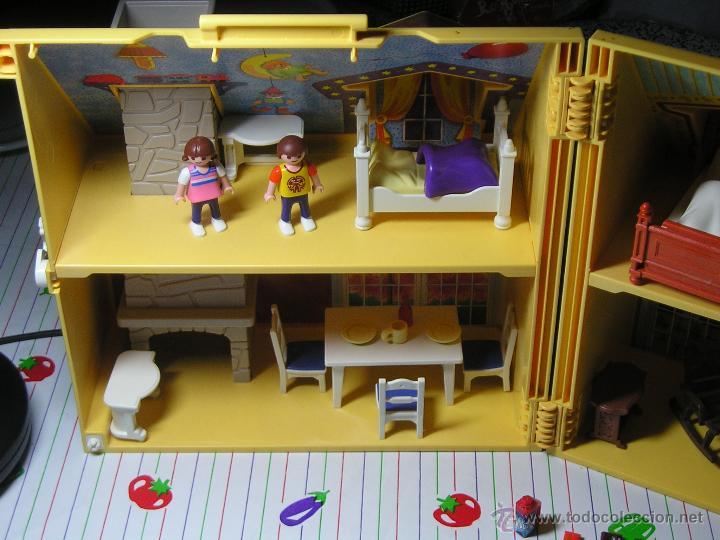 Playmobil 4145 maletin casa de mu ecas 4 figu comprar for Casa maletin playmobil