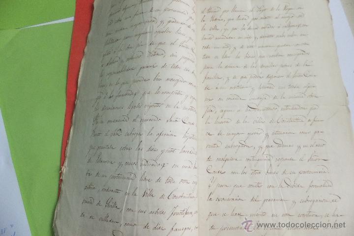Manuscritos antiguos: - Foto 3 - 41313727