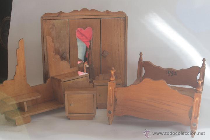 dormitorio de madera a os 60 comprar en todocoleccion