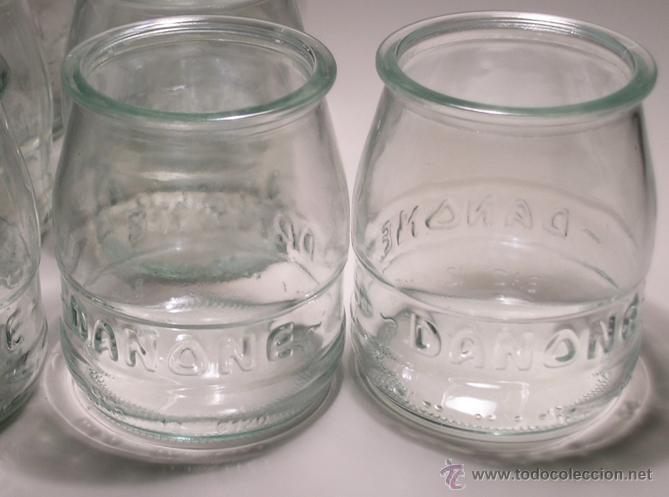 29 tarros cristal yogur danone letras relieve comprar - Fabricas de cristal en espana ...
