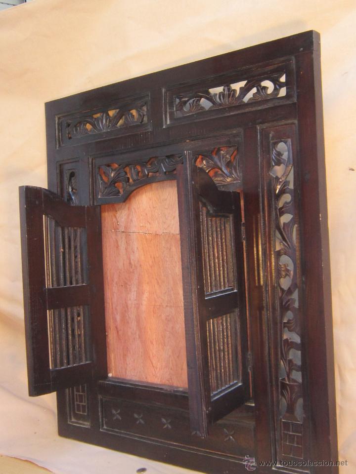 marco ventana de madera para colgar en la pared - Comprar Marcos ...
