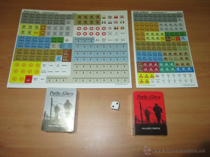 Juego Paths Of Glory Primera Guerra Mundial Comprar Juegos De Mesa