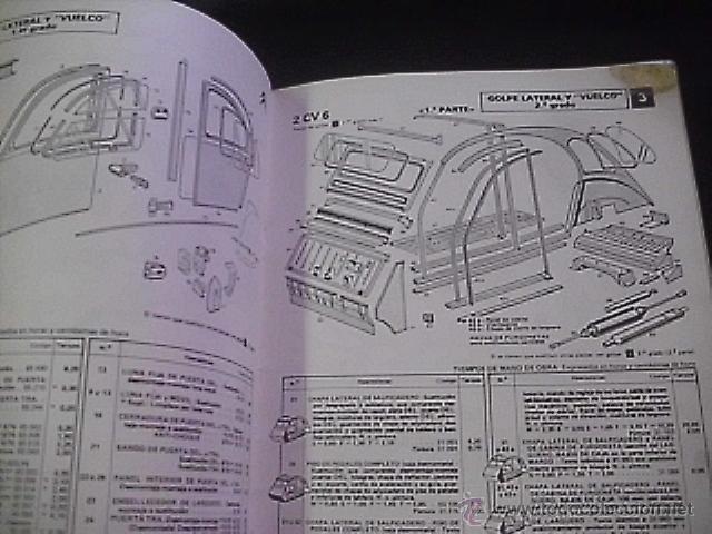 manual de despiece citroen 2cv 6 con tiempos comprar cat logos rh todocoleccion net manual de taller citroen 2cv manual de taller citroen 2cv