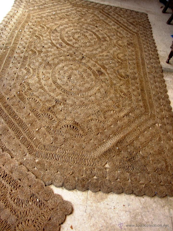 Antiguas alfombras artesanales de esparto comprar for Alfombras turcas antiguas