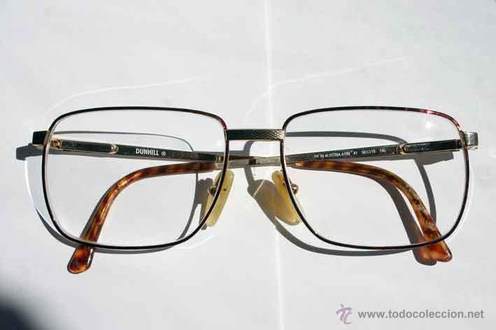 elegantes gafas graduadas dunhill. montura dora - Comprar ...