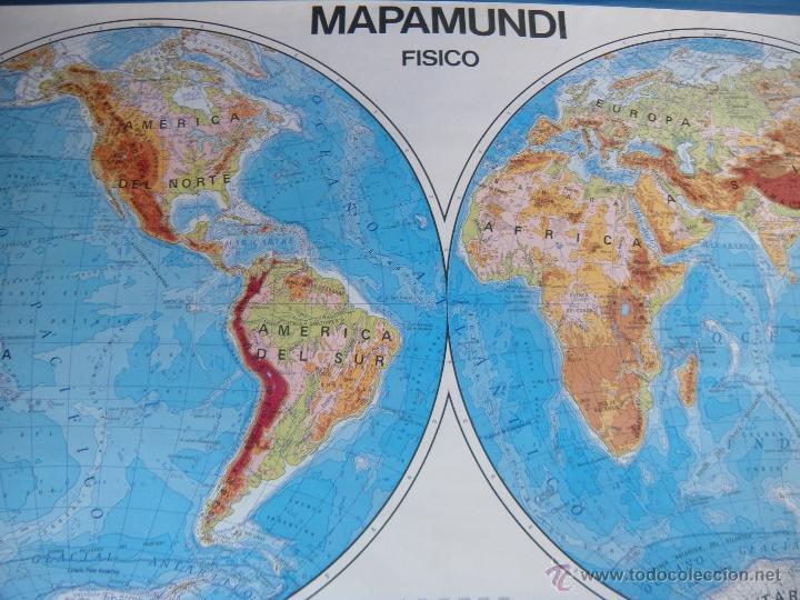 colegio mapamundi fisico y poltico mapa  Comprar Mapas