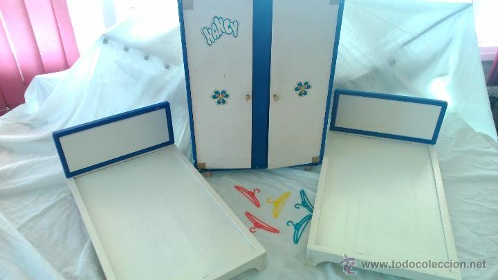 Lote mu eca nancy famosa a os 70 armario origin comprar for Dormitorio anos 70
