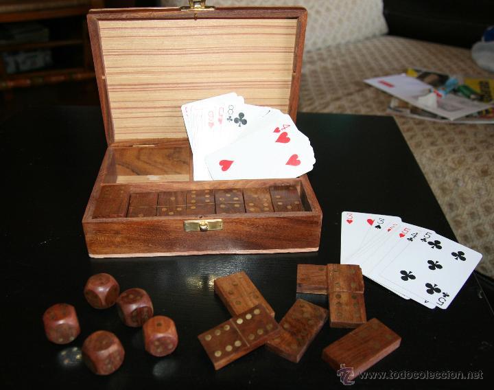 Juegos con los dados de poker