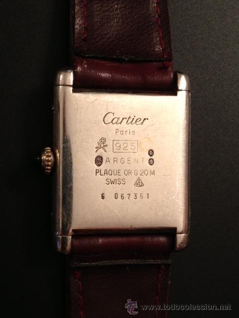 Must de cartier mujer reloj