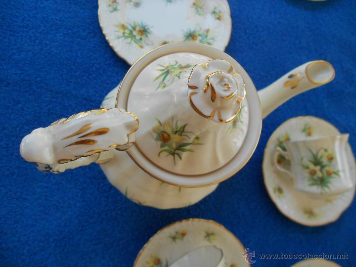 Juego de cafe de porcelana ingles comprar porcelana for Porcelana en ingles