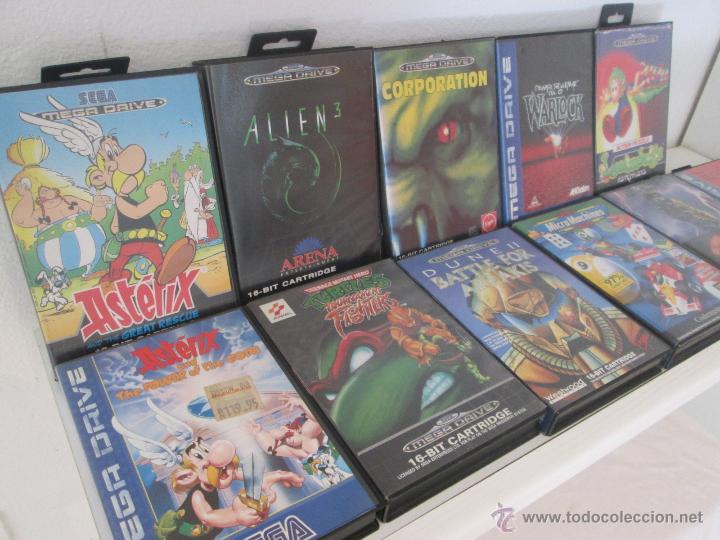 Lote De 11 Juegos Sega Mega Drive Megadrive Comprar Videojuegos Y