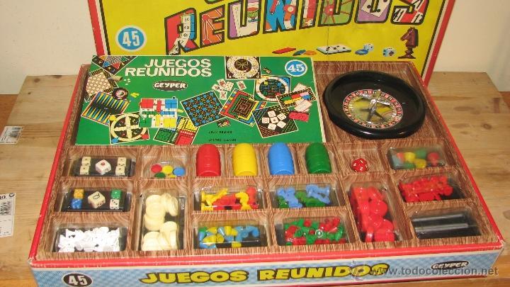 Juegos Reunidos Geyper 45 Comprar Juegos De Mesa Antiguos En