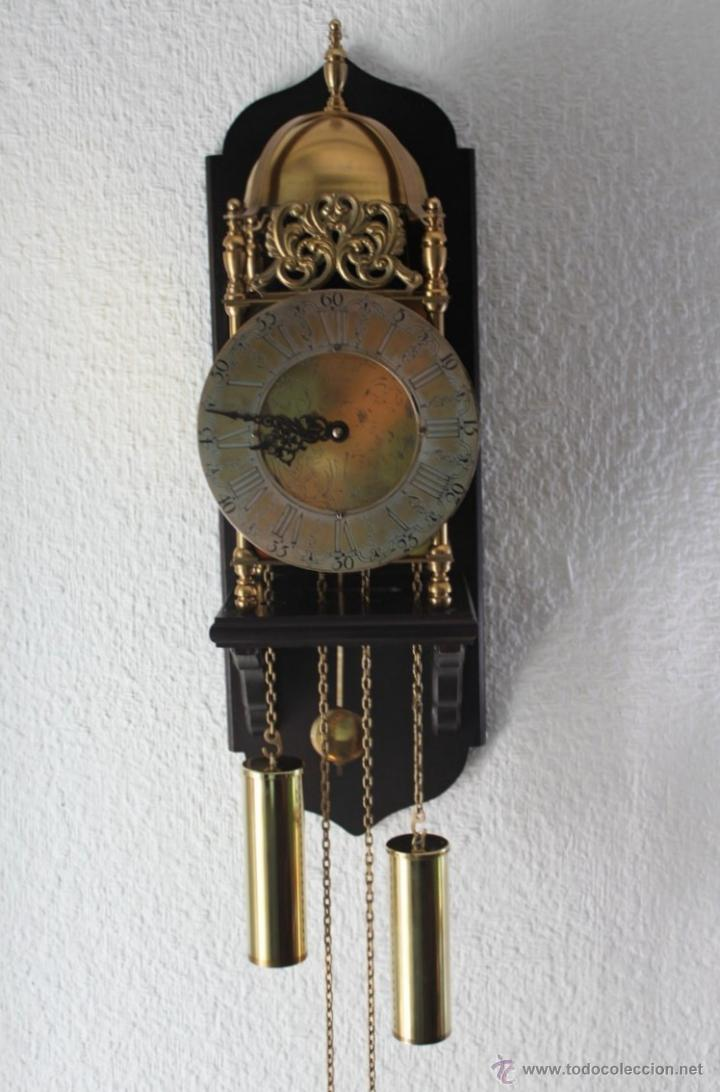 Antiguo reloj de pared john smith london t comprar for Reloj de pared antiguo