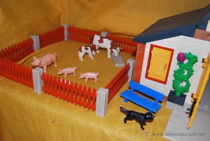 Antigua granja de playmobil 3072 completa los comprar for La granja de playmobil precio