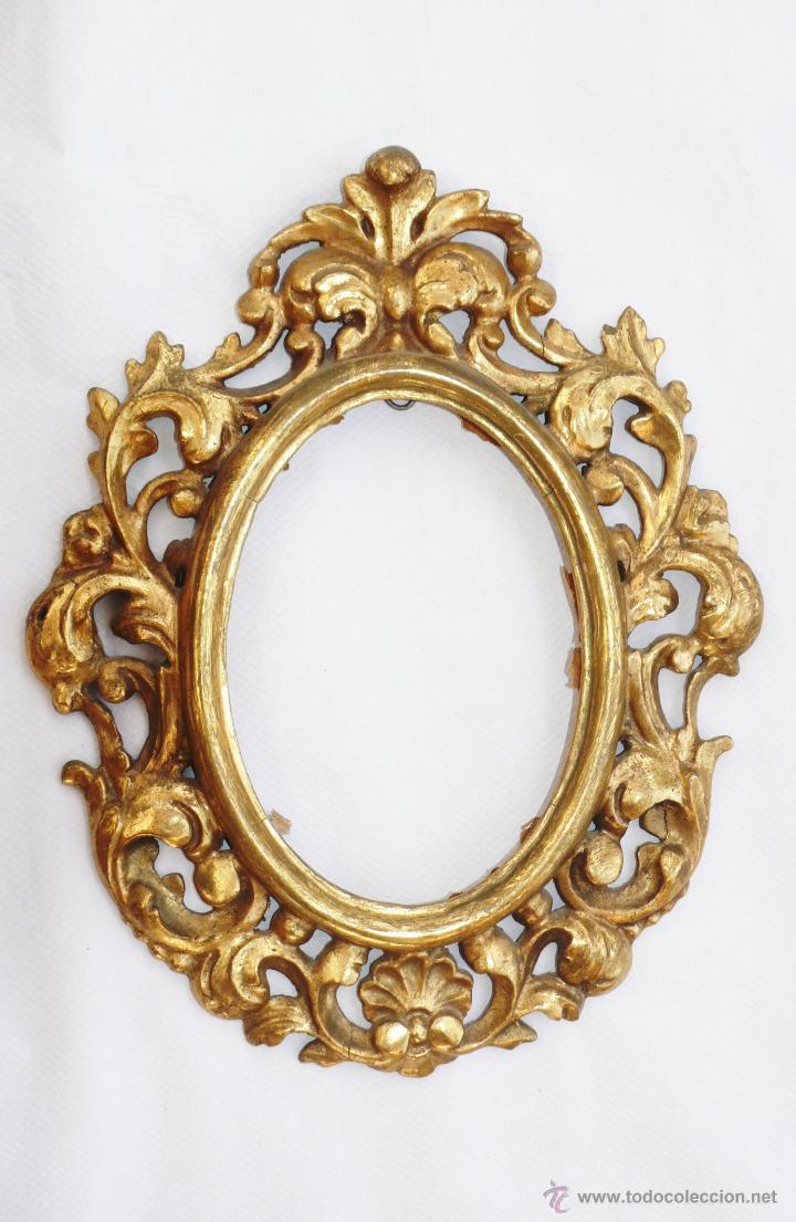 Gran lote desembalaje espejo antiguo cornucopia comprar - Espejos antiguos grandes ...