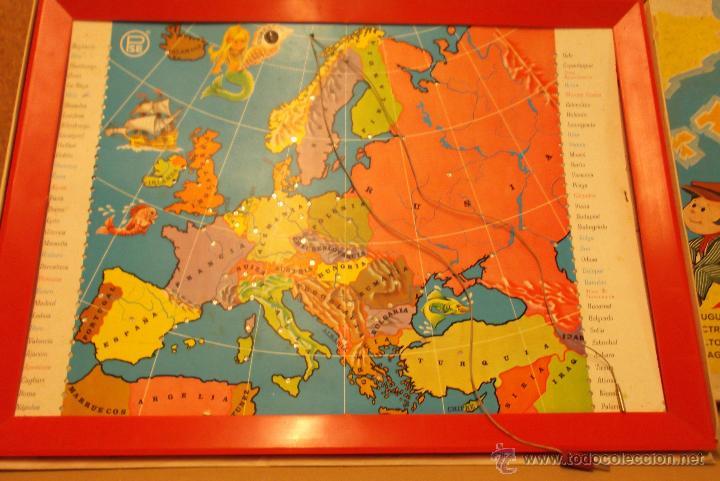 interesante juego de mesa estudiando geografia  Comprar Juegos