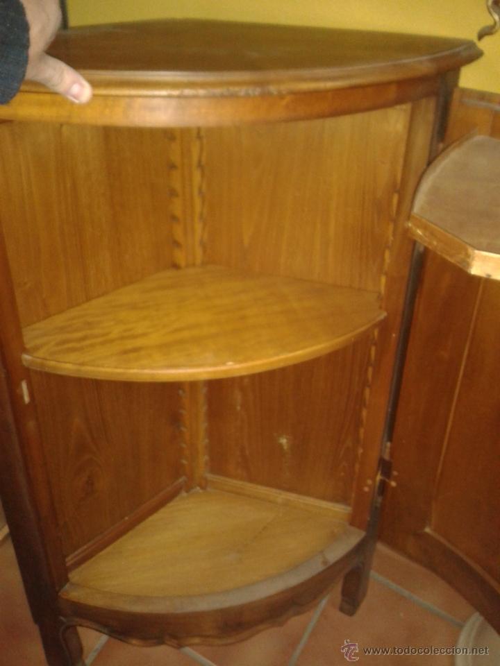 Rinconera en madera de cerezo 1950 comprar muebles - Rinconeras de madera ...