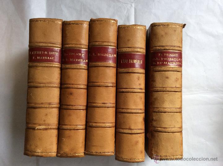 Lote de 15 libros antiguos encuadernados en pie comprar - Libros antiguos para decoracion ...