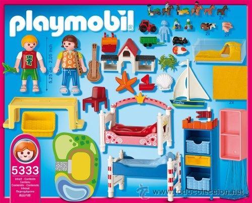 Playmobil habitacion casa victoriana ni os jugu comprar for Kinderzimmer play 01