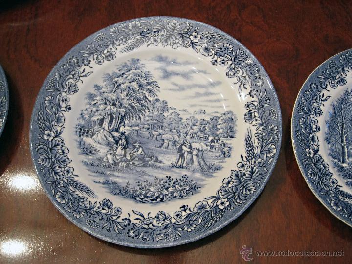 Vajilla porcelana inglesa 39 churchill 39 para 12 p comprar porcelana inglesa antigua bristol en - Vajilla inglesa ...