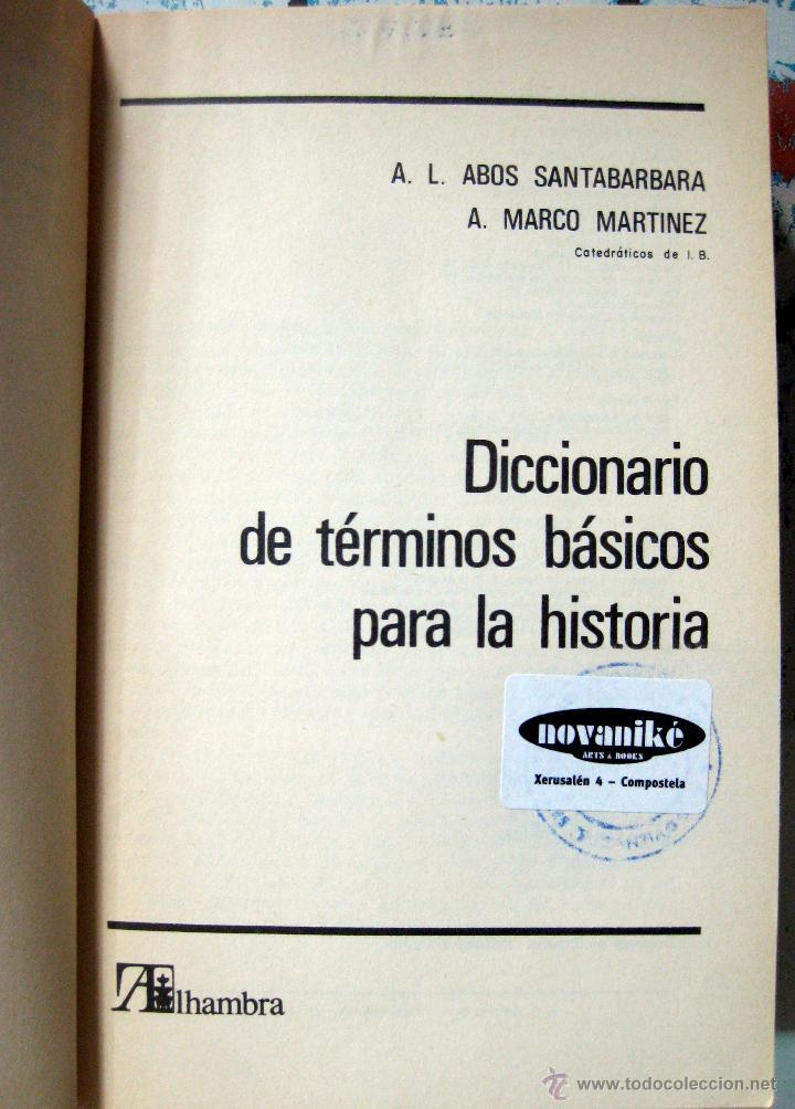 abós santabárbara & marco martínez. diccionario - Comprar en ...