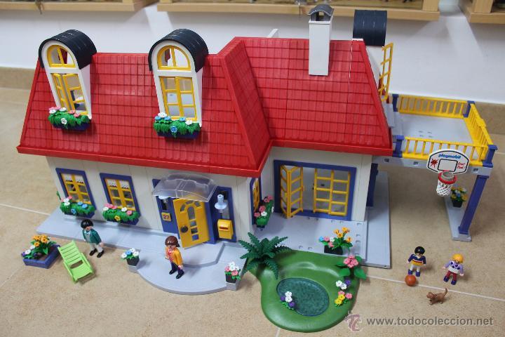 Playmobil 3965 casa moderna ciudad city comprar for Casa moderna 123 playmobil