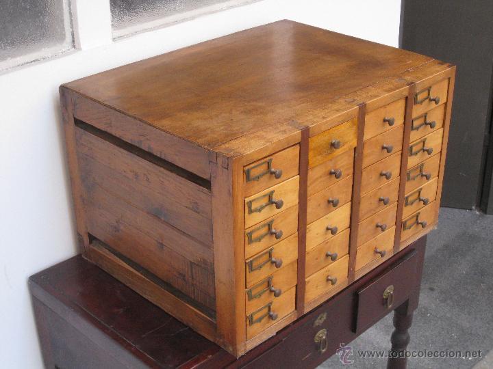 antiguo mueble cajonero, de oficios. - Comprar Muebles Auxiliares ...