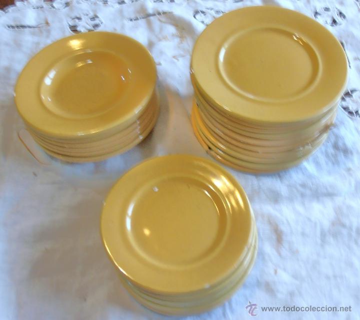 Vajilla de ceramica de 46 piezas muy antigua comprar for Vajillas porcelana clasicas