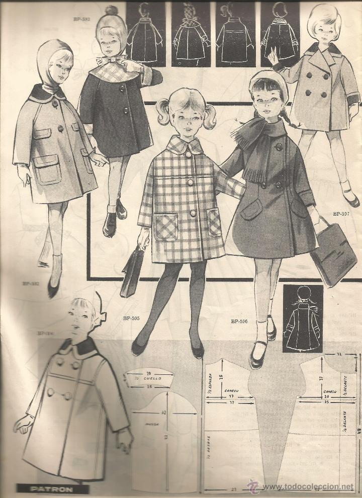 fotos moda infantil anos 60