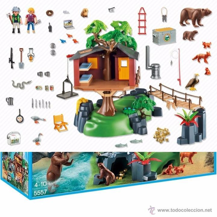 Playmobil 5557 casa de arbol aventura comprar playmobil en todocoleccion 49633083 - Casa del arbol de aventuras playmobil ...
