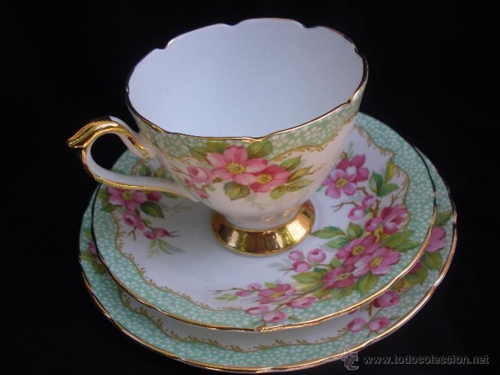 Magn fico juego de seis tazas de caf t en por comprar for Tazas de te inglesas