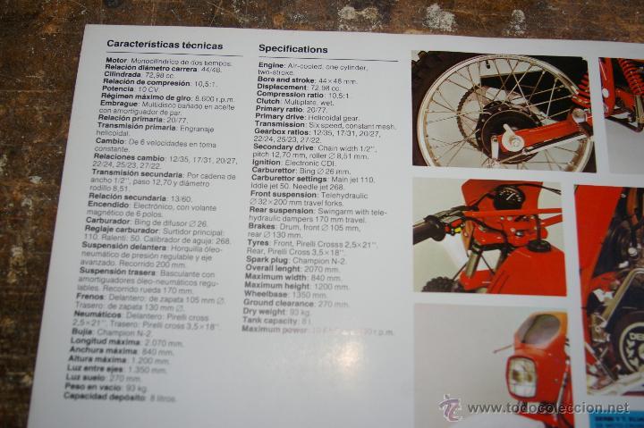 Catalogo caracter sticas derbi 74 cc tt8 comprar for Catalogo derbi