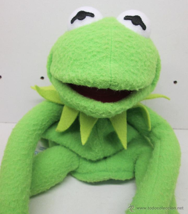 The Muppets Los Teleñecos La Rana Gustavo Triki El: Peluche / Marioneta Rana Gustavo Barrio Sesamo