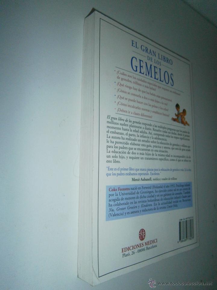 El gran libro de los gemelos coks feenstra 2000 comprar for Oficinas asm madrid