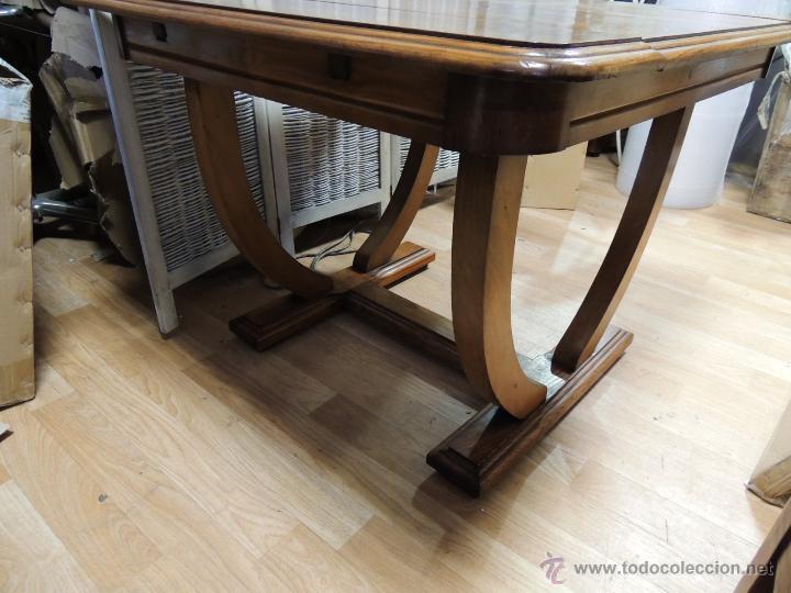 mesa de comedor art deco extensible - Comprar Mesas Antiguas en ...