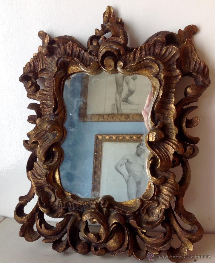 antiguo lote de marcos isabelinos , tallados y - Comprar Marcos ...