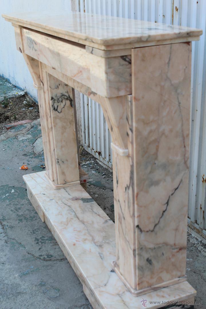 Frontal chimenea en marmol comprar utensilios del hogar antiguos en todocoleccion 51673912 - Utensilios de chimenea ...