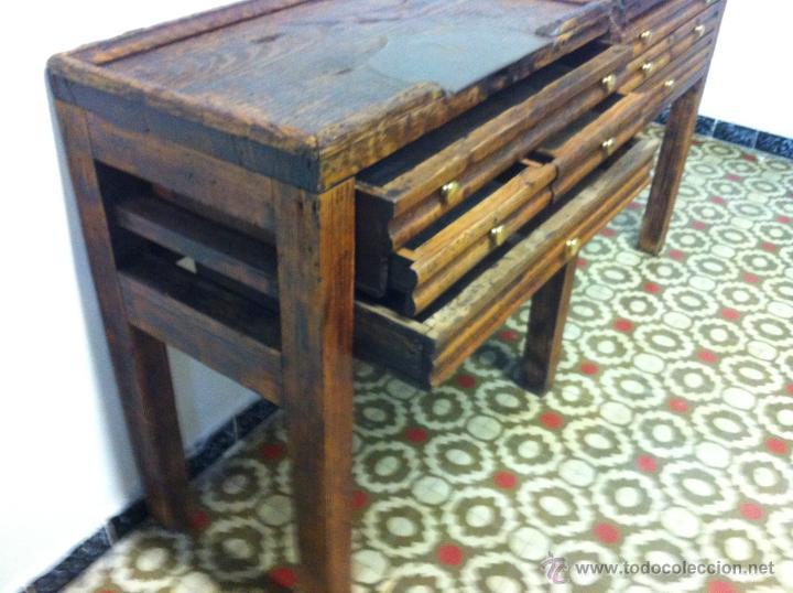 Antiguo mueble industrial de oficios de joyero comprar for Comprar mueble industrial
