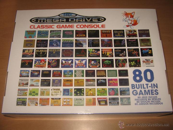 Consola Sega Mega Drive Classic 80 Games Mandos Comprar