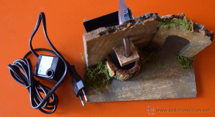 fuente de madera y corcho con motor para el agu - Comprar Figuras de ...