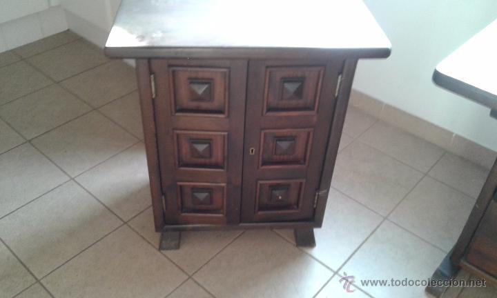 lote muebles comedor rustico macizo- cabezal ca - Comprar artículos ...