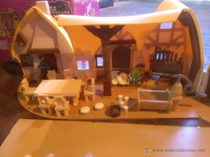 Casa caba a blancanieves y los 7 enanitos con c comprar - Casa de blancanieves y los 7 enanitos simba ...