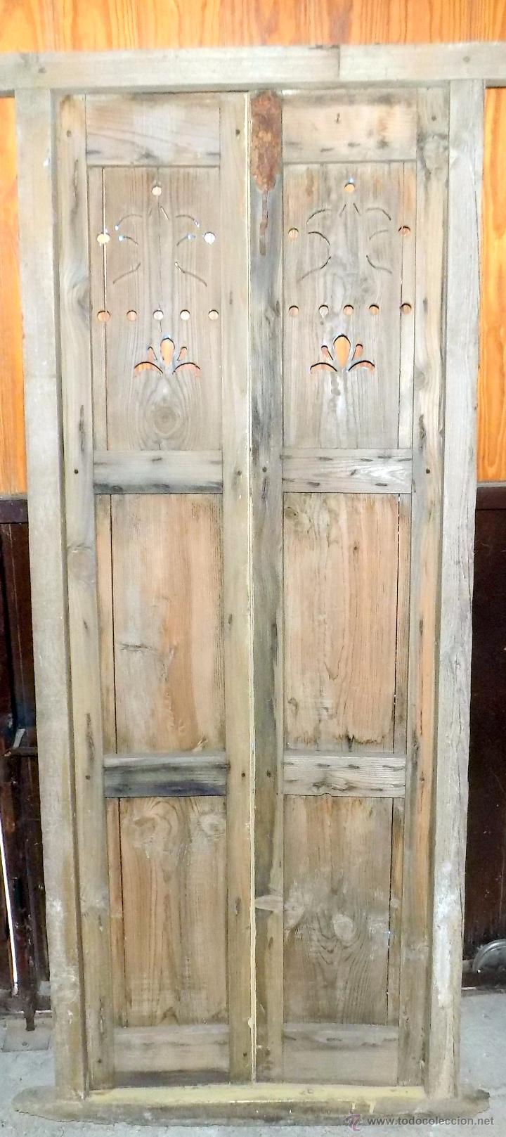 Antiguas puertas de alacena enceradas y decapa comprar for Alacenas antiguas decapadas