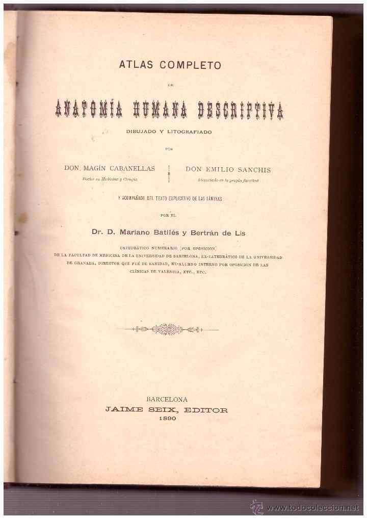 atlas completo de anatomia humana descriptiva ( - Comprar Libros ...