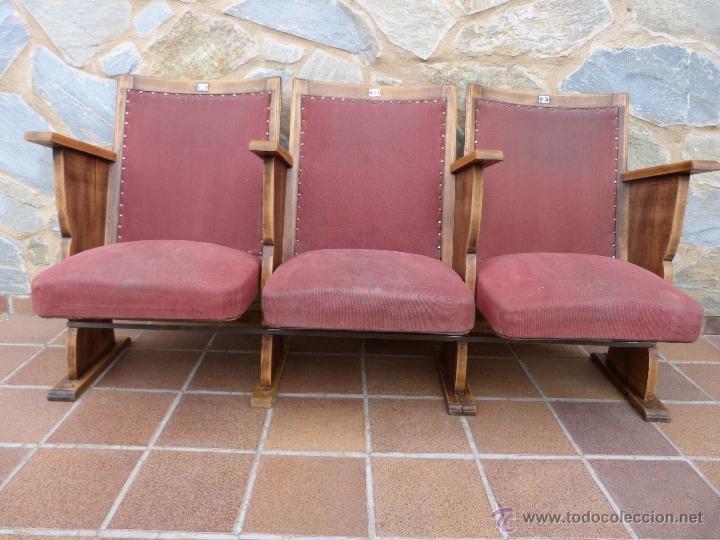 Butacas de cine a os 50 restauradas comprar muebles for Butacas diseno italiano