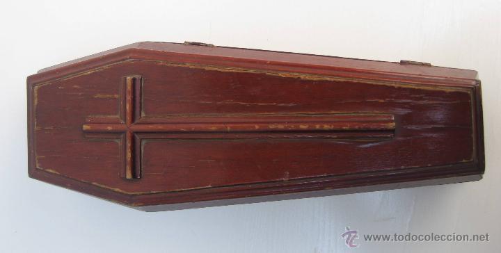 Muy raro ataud madera antiguo de juguete ideal comprar - Juguetes antiguos de madera ...
