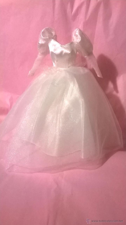 vestido blanco de fiesta o boda para barbie, pr - Comprar Barbie y ...
